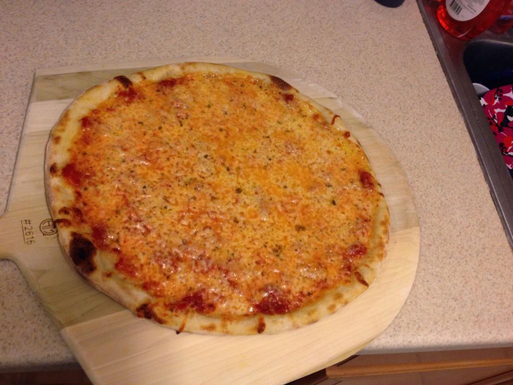 plain pizza pie